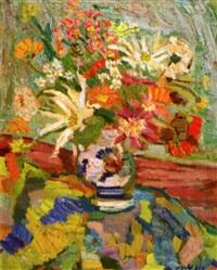 vase de fleurs by gilbert corsia
