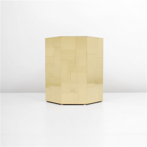 cityscape occasional table by paul evans