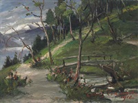 gebirgslandschaft by lovis corinth