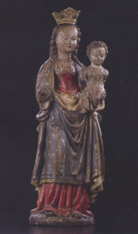 virgin and child by flemish school-malines (16)