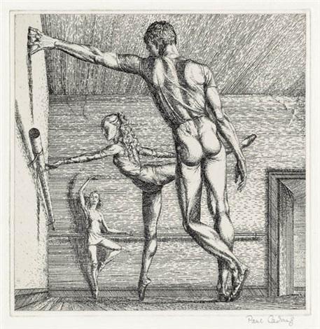 arabesque by paul cadmus