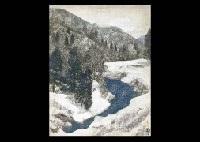 snow landscape by takashi asada