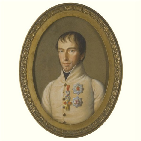 portrait of rainer archduke of austria by natale schiavoni