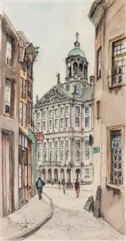 queen's palace, amsterdam by jan den hengst