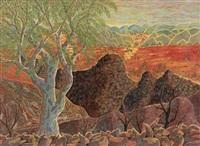 landscape 1964 by henri bastin
