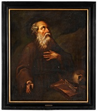 den helige hieronimus by giovanni lanfranco