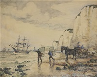le départ à la pêche by frank-will