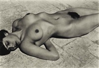 nude (tina on the azotea) by edward weston