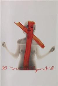 marilyn monroe, crucifix ii by bert stern