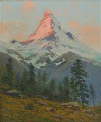 matterhorn by charles partridge adams