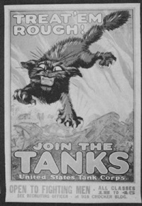 treat 'em rough! join the tanks, united states tanks corps by august hutaf