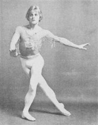 mikhail baryshnikov by kenn duncan