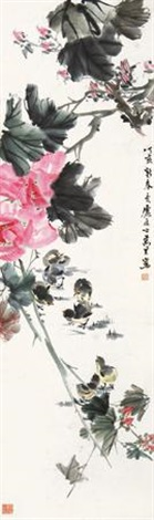 花鸟 by ma wanli