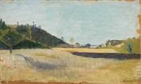 paesaggio by eugenio cecconi