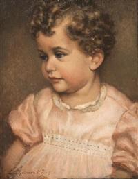 ritratto di fanciulla by leonardo dudreville