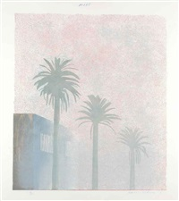 mist (from the weather series) by david hockney
