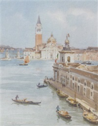 san giorgio maggiore from the dogana, venice by william a. macdonald