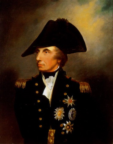 Portrait Of Admiral Lord Nelson By Arthur William Devis