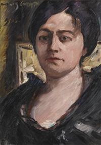 porträt charlotte corinth (portrait of charlotte corinth) by lovis corinth