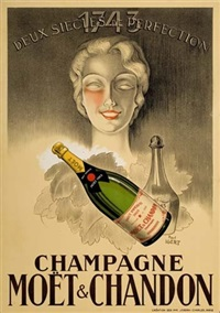 champagne moët & chandon by paul igert