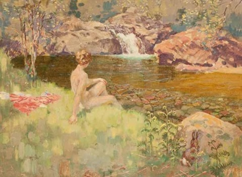 the bather by jack orr