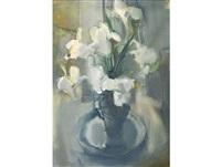 arum lilies by louis van heerden