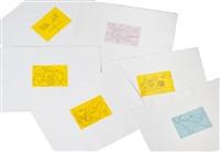 i segni dello zodiaco (portfolio of 12) by antonio marasco