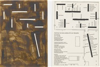 how one thing leads to another (in 2 parts) by jonathan monk