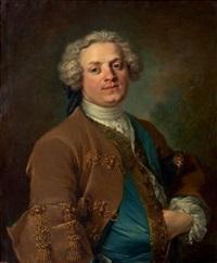 portrait présumé d'antoine lemierre, poète et membre de l'académie française by louis tocqué