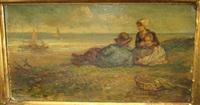 famille dans les dunes by elchanon verveer