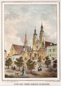 dom und pfarrkirche in brixen (from die interessantesten puncte) by georg pezolt