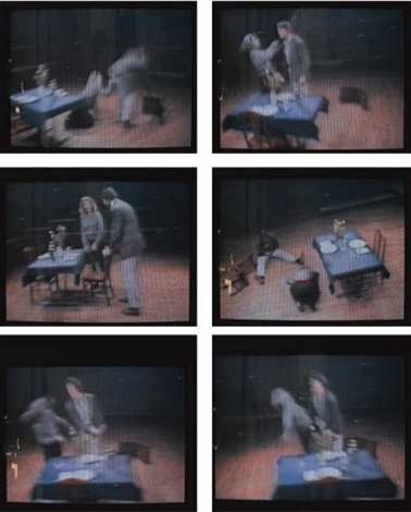 violent incident manwoman segment by bruce nauman