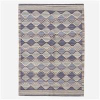 blåspättan flatweave carpet by barbro nilsson