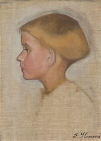 profile of a boy by einar ilmoni