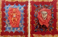 birth and death (diptych) by christy astuy