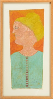 untitled (profile) by lee godie