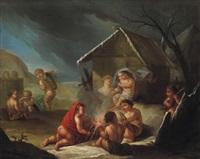 allegorie des winters by joseph melling