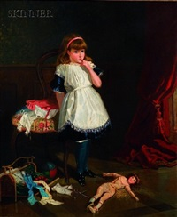 the broken doll by frederick richard pickersgill