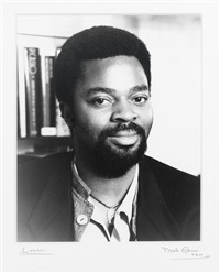 portrait of ben okri by mark gerson