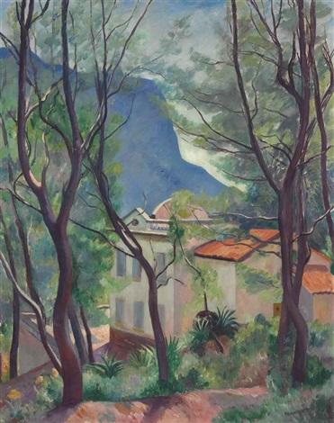 la maison dans les arbres villecroze by henri charles manguin