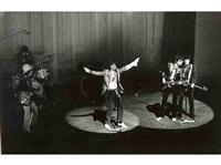 les rolling stones lors de leurs premiers concerts en france (6 works) by jean-pierre leloir