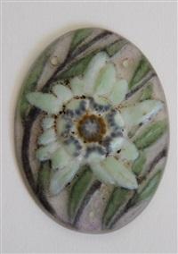 pendentif de forme ovale by gabriel argy-rousseau
