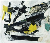 untitled (+ untitled, ink on paper; 2 works) by gustave asselbergs