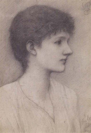 helen mary gaskell by frederick hollyer