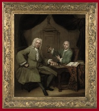 double portrait of michiel de roode and jan punt by jan maurits quinkhardt