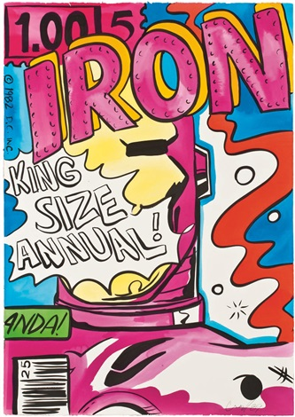 iron man annual by crash