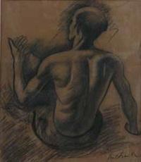 nudo maschile by gregorio sciltian