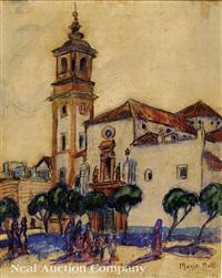 cathedral, algeciras, spain by marie atkinson hull