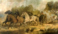 going to the horse fair by harden sidney melville