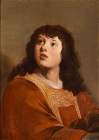 ein junger mann in liturgischem gewand (der heilige stephanus?) by jacob adriaensz de backer